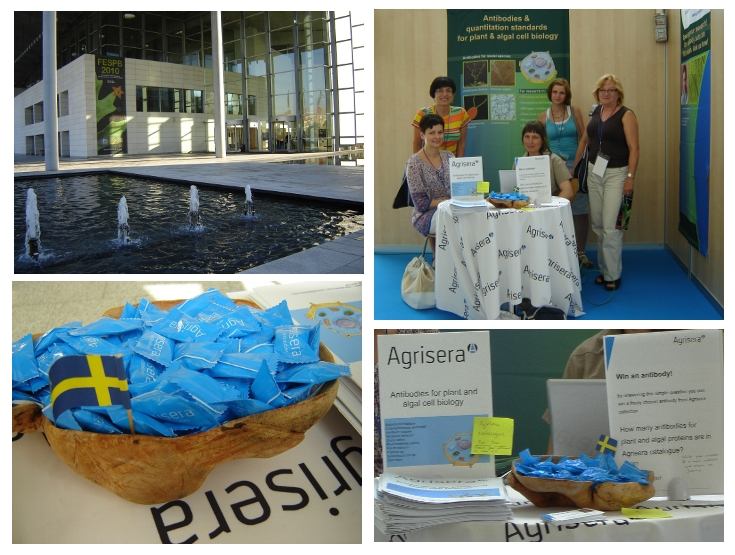 Agrisera exhibiting on FESPB 2010