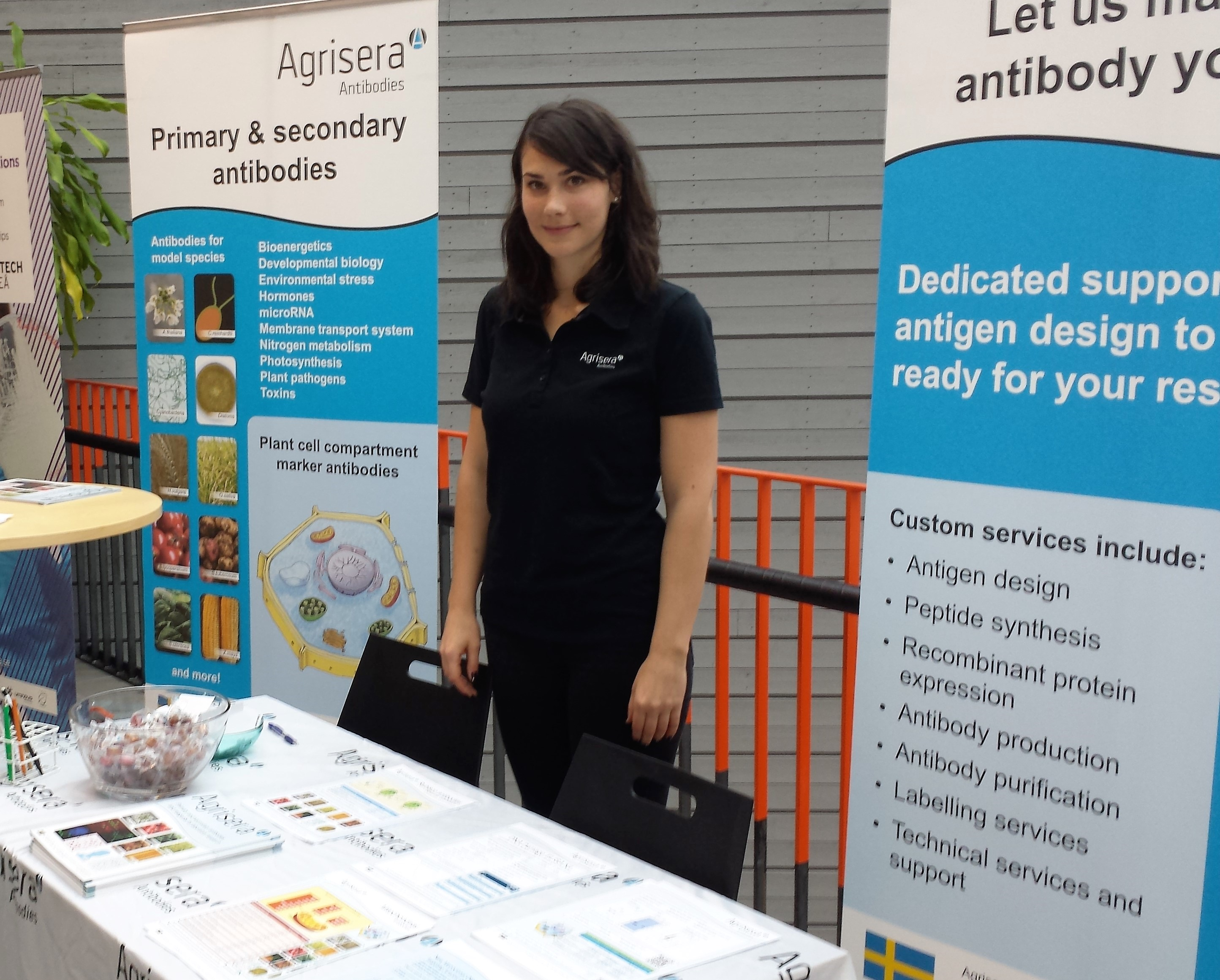 Agrisera at the Bitechnology Days 2015