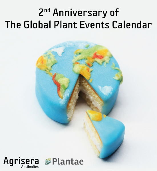 2nd Anniversary of The Global Plant Events Calendar