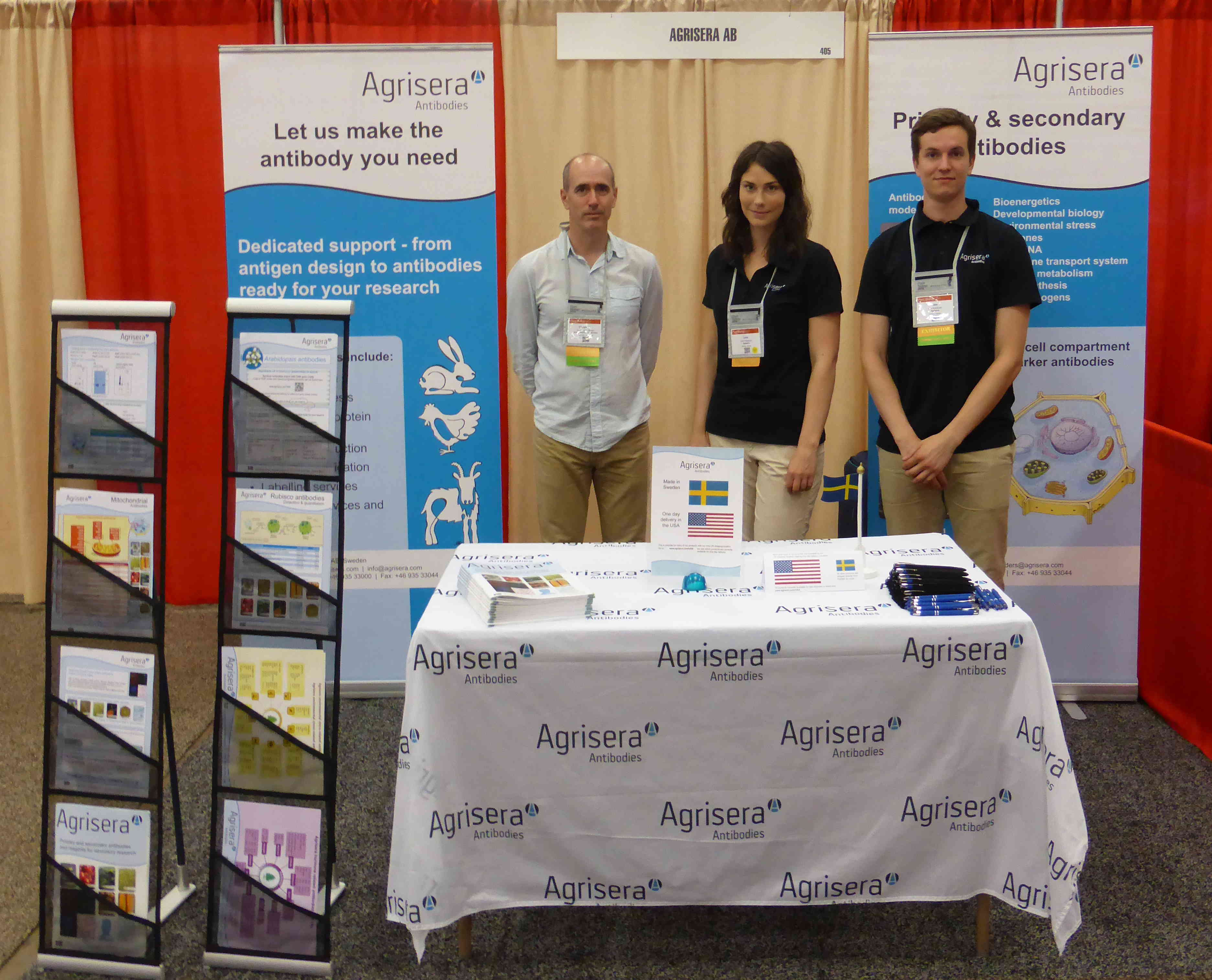 Agrisera at ASPB plant science meeting 2016