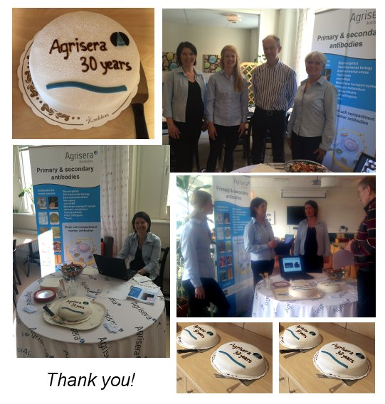 Agrisera's 30 years celebration