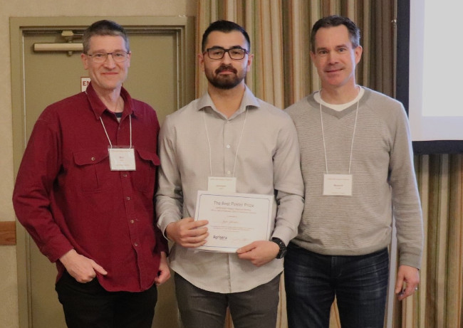 Agrisera Best Poster Award on Western Regional Meeting of CSPB