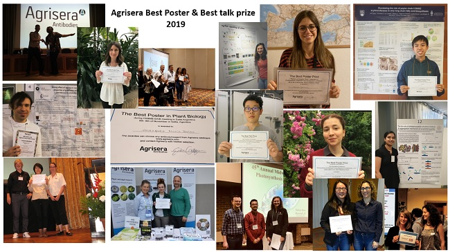 Agrisera Best Talk and Best Poster prize 2019