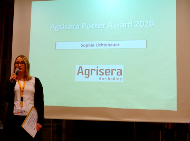 Agrisera Best Poster Prize in Dabringhausen 2020