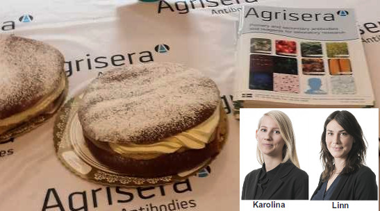 Agrisera visit to Umeå University, February 2018