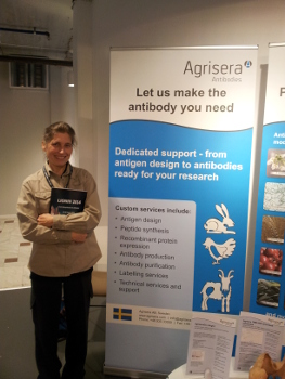 Agrisera on Lignin 2014 in Umeå