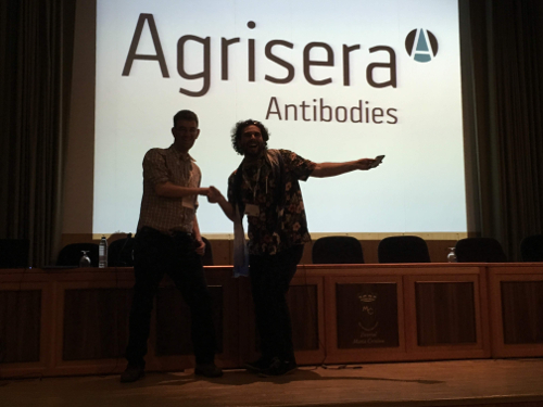 Agrisera Best Poster Prize during SEB-INDEPTH Chromatin meeting 2019