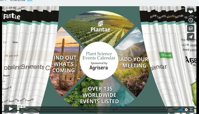 The Global Plant Events Calendar Video