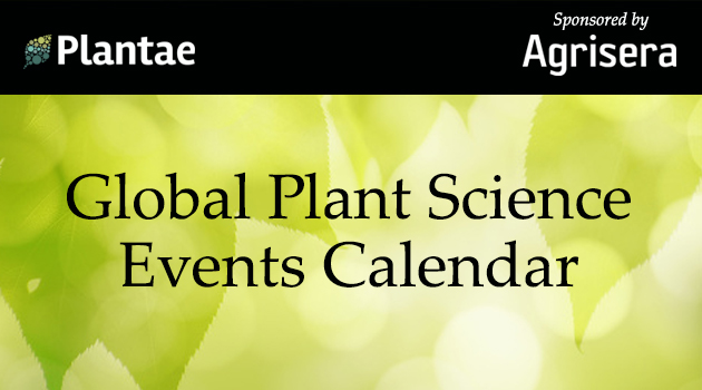 The Global Plant Events Calendar