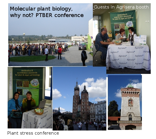 Agrisera at conferences in Cracow