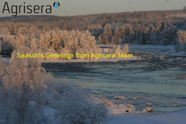 Season's greetings from Agrisera 2009